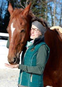 Ausbildung Pferd und Reiter Lara Bauer